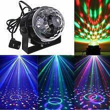 Wuchance Mini-RGB-LED-Party-Disco-Club DJ-Licht