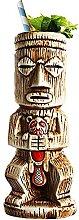 Wued Tiki-Becher aus Keramik, Tiki-Glas für