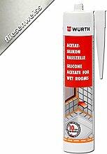 Würth Acetat - Silikon Nasszelle Fliesenweiss 310 ml Kartusche