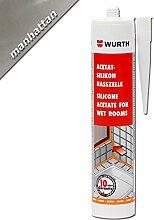 Würth Acetat - Silikon Nasszelle Manhattan 310 ml Kartusche