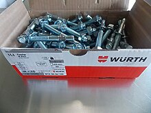 Würth Bolzenanker M12x140 Fixanker verzinkt 10 Stück W-FA/S