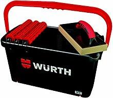 Würth Profi Fliesen Fugbox 7 tlg. Wascheimer Waschbox Waschset Fliesenwaschse