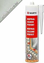 Würth Silikon Brilliantweiss Neutral-Perfekt 310ml Kartusche Fensterverglasung