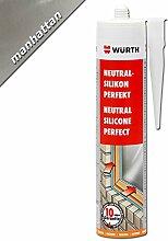 Würth Silikon Manhatten Neutral-Perfekt 310ml Kartusche Fensterverglasung