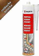 Würth Silikon Rotbuche Neutral-Perfekt 310ml Kartusche Fensterverglasung