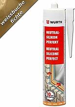 Würth Silikon Weissbuche Fichte Neutral-Perfekt 310ml Kart. Fensterverglasung