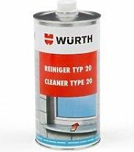 Würth Typ 20 Kunststoffreiniger Fenster Wuerth Kunststoff Reiniger PVC 1 Liter+ Zubehör