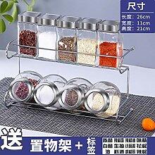 würze box gewürzständer Glas Set