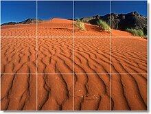 Wüste Szene Badezimmer Fliesen Wand D004. 45,7x 61cm mit (12) 6x 6Keramik Fliesen.