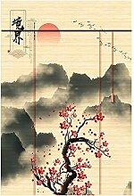 WUFENG Bambus Vorhang Schatten Vorhang