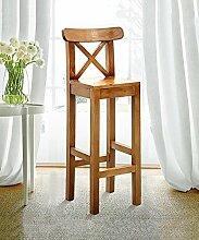 WUFENG Ergonomische Bar Hocker Bar Stuhl mit bequemer Rückenlehne, perfekt für Bar Küche Diner und gelegentliche Sitzplätze