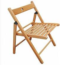 WUFENG Ergonomischer Klappstuhl Massivholz Stuhl Hocker - Geeignet für zu Hause Büro und Studenten Verwendung, um gute Haltung zu fördern ( Farbe : A )