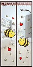 WUFENG Magnet Fliegengitter Tür Insektenschutz