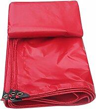 WUFENG Plane Rot PVC Plastiktuch Regenschutz