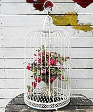 WUFENG Standing - Iron Flower Racks Creative European Style Retro Einfache Blumen Racks Indoor Wohnzimmer Balkon Schlafzimmer Home Flower Racks Montage Blumentopf Regal ( Farbe : B , größe : 29*59cm )