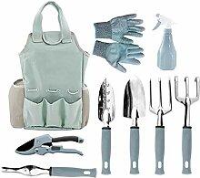 WUHUAROU Gartenwerkzeug Set Gartengräte Set 9