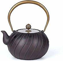 WUJIAN Teekannen Gusseisen Teekanne Japanische