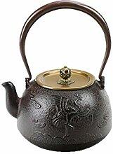 WUJIAN Teekannen Japanische Gusseisen Teekanne for