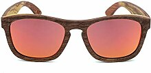 WULE-Sunglasses Unisex Retro hochwertige hölzerne