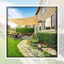 WULIL Sonnensegel Sonnenschutz, 98% UV-Block