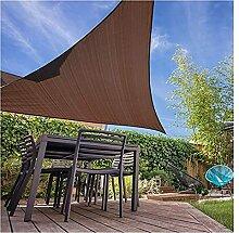 WULIL Sonnensegel Wasserdicht Sonnenschutz, Garten