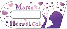 Wundermix Aufkleber Cook-Key, selbstklebende Cook-Key Aufkleber, hochauflösender Druck, passgenaue Aufkleber Thermomix TM5 made in Germany, Mamas Herzstück