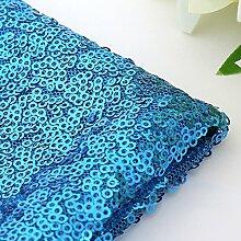 Wunderschöne 100x 130cm Funkeln Pailletten Tischdecke Cover für Bankett Hochzeit Party Decor