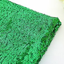 Wunderschöne 100x 130cm Funkeln Pailletten Tischdecke Cover für Bankett Hochzeit Party Decor, grün