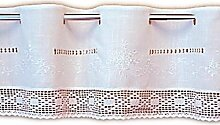 wunderschöne Bistrogardine 30x150 cm