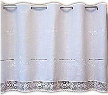 wunderschöne Bistrogardine 80x150 cm