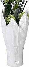 Wunderschöne Deko Vase Blumenvase Bodenvase Blatt
