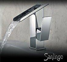Wunderschöne Design Wasserfall Einhebel