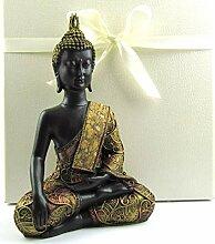 Wunderschöne detailreiche Buddha Skulptur, Deko
