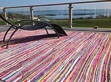 Wunderschöne Second Nature, umweltfreundlich, mehrfarbig Jahre Chindi Flickenteppich-wählen Sie aus über zwölf verschiedene Größen, baumwolle, multi, 180cm x 270cm