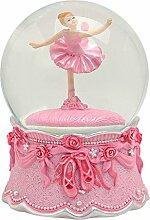 Wunderschöne Spieluhr ~ Ballerina in Schneekugel