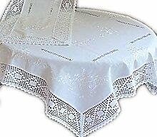 wunderschöne Tischdecke mit Stil Baumwolloptik