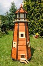 Wunderschöner großer Leuchtturm aus Holz mit