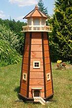 Wunderschöner großer XXL Leuchtturm aus Holz mit