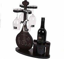 Wunderschöner Lauten-Weinflaschenhalter und