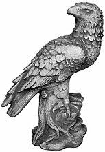 Wunderschöner massiver Stein Adler Gartendeko