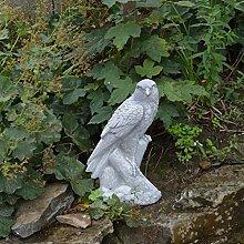 Wunderschöner massiver Stein Adler Gartendeko Raumdeko aus Steinguss frostfes