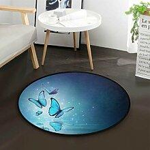 Wunderschöner Schmetterling Teppich für