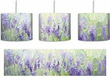 Wunderschönes Lavendelfeld inkl. Lampenfassung