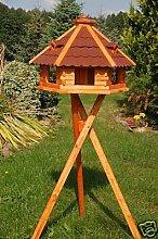 Wunderschönes XXL Vogelhaus mit Ständer, behandel