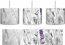 wundervoller Lavendel schwarz/weiß inkl.