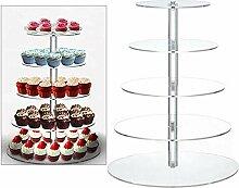 WUPYI2018 Tortenständer, Cupcake Ständer Runde
