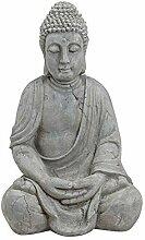 Wurm Design Genialer Buddha 50cm in Grau aus