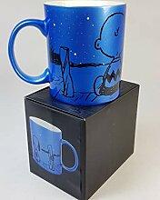 wuselwelt 221565, Porzellan Tasse Peanuts, Snoopy