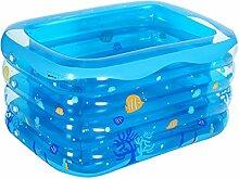 WUSTEGCCF Aufblasbares Kleines Schwimmbad,
