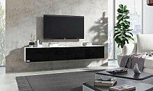Wuun® TV Board hängend/8 Größen/5 Farben/240cm